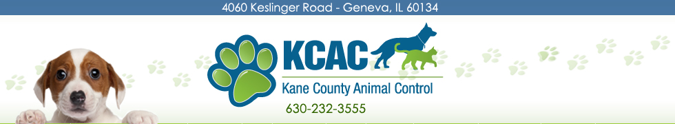 KCAC - Kane County Animal Control - 630-232-3555